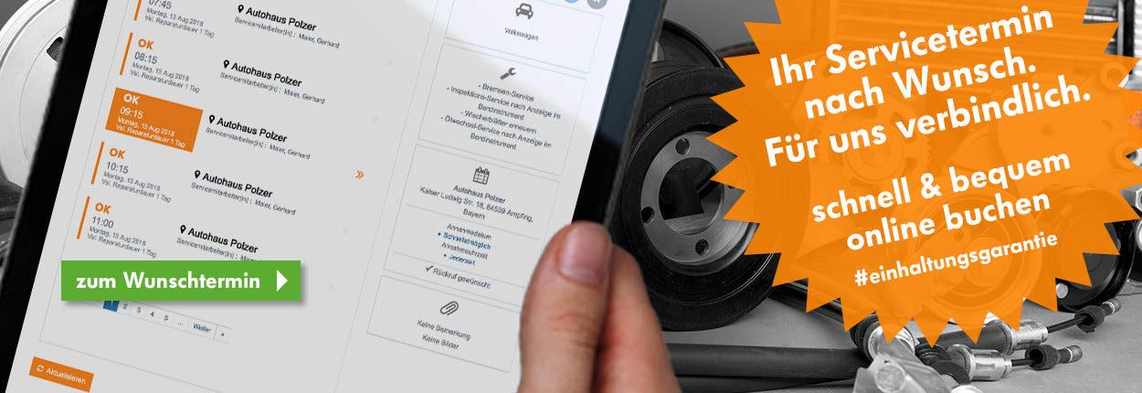 Start Autohaus Polzer   Servicetermin online buchen